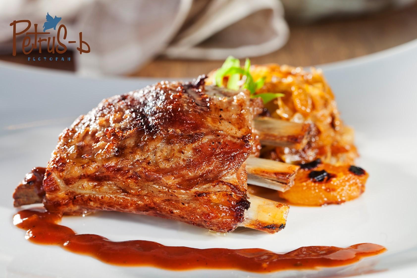 Ребрышки BBQ