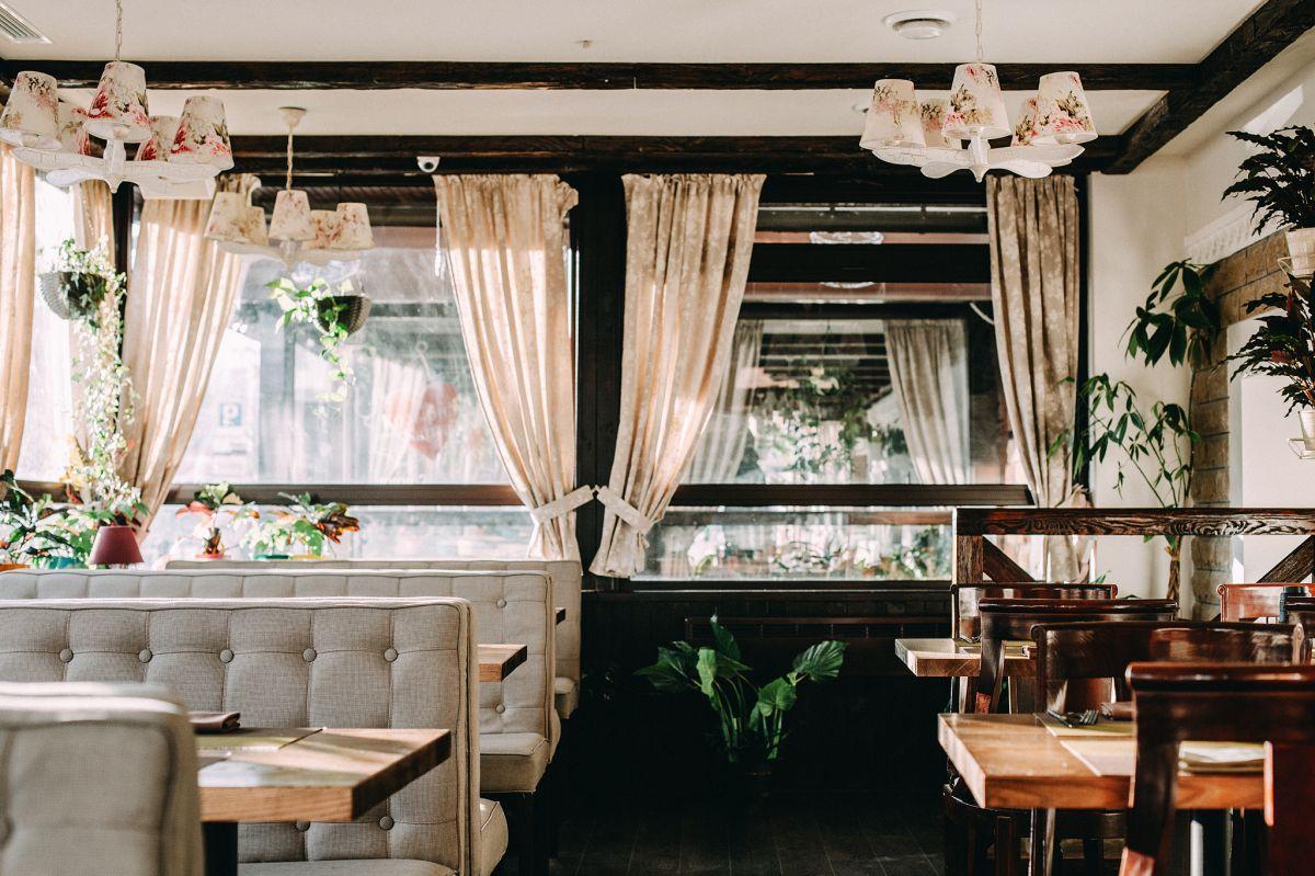 Уютная терраса в Киеве