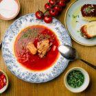 Специально к Евровидению: EURO SET в ресторане Petrus-ь!
